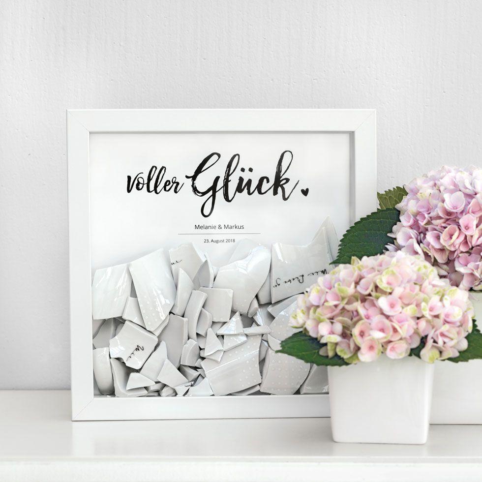 errinerungsbild aus euren scherben vom polterabend love wedding pinterest polterabend. Black Bedroom Furniture Sets. Home Design Ideas