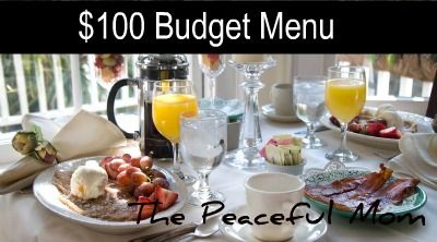 Her web page is full of awesome ideas on saving money and her budget meals look really good!
