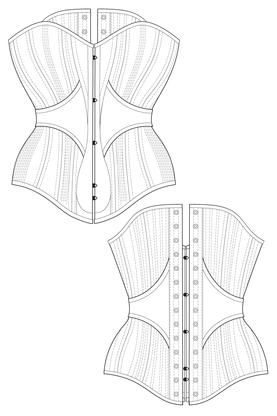 Corset Sewing Pattern Interesting Design Inspiration