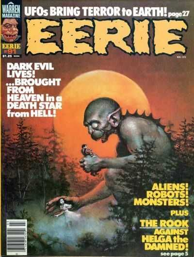 Creepy Anthology Magazine Of Contemporary Fantasy And Horror Stories Issue No 98