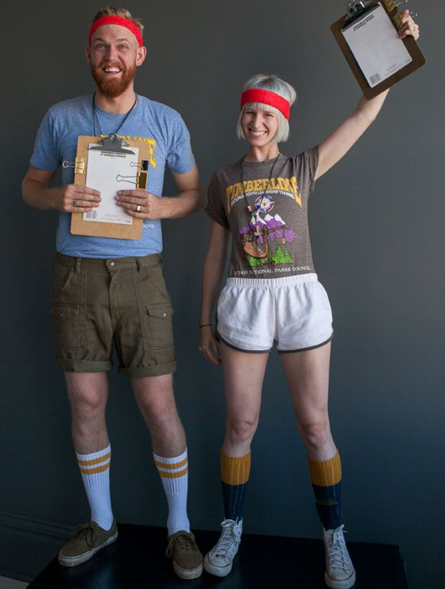 4e9a079cf3e Camp counselor Halloween costumes. So easy. So iconic.