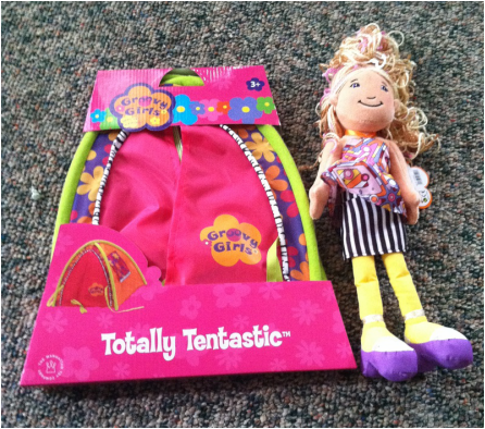 Groovy Girls Brooklyn Doll and Totally Tentastic Play Tent US & Groovy Girls Celebrate their Sweet 16 By Adding A New Line Plus ...