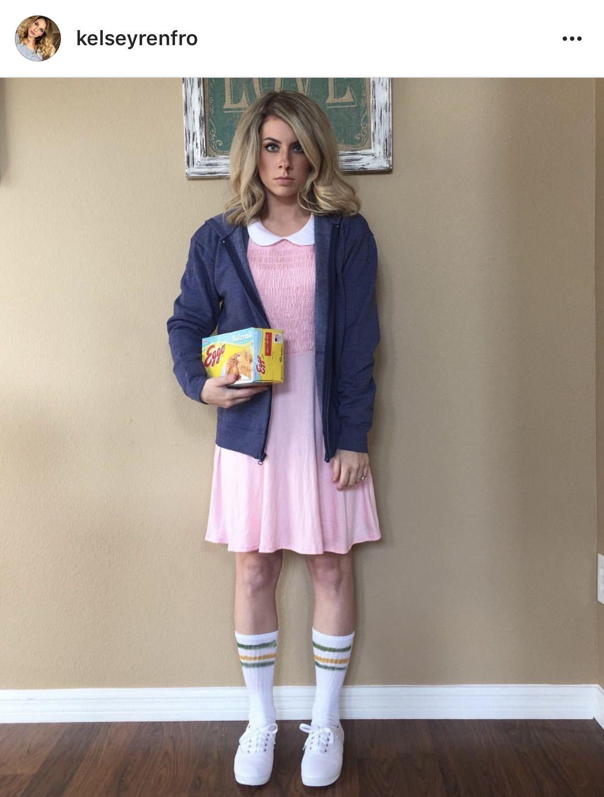 Eleven Adult Costume Blonde Wig