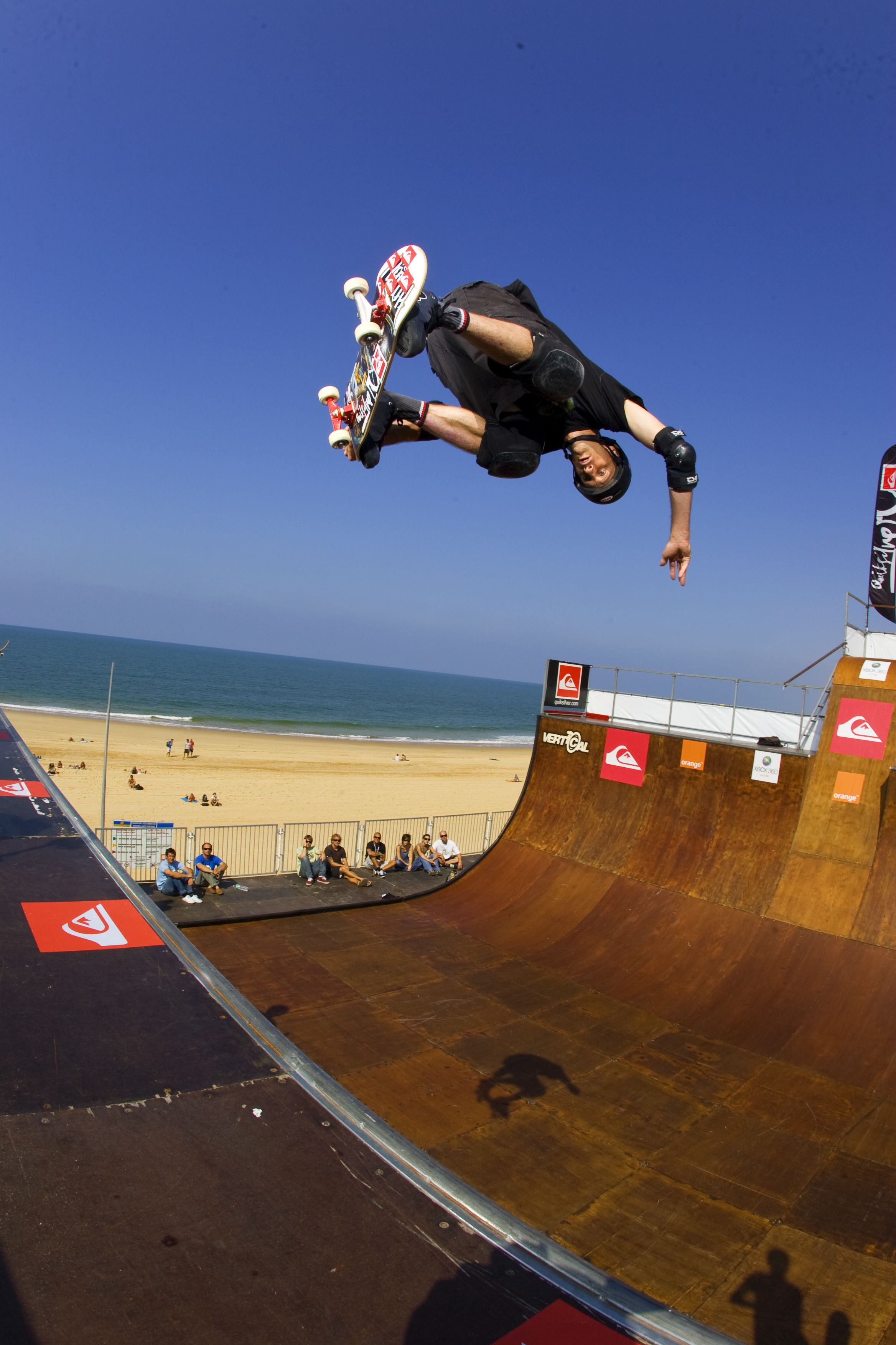 Tony Hawk Quiksilver contest skate // Indie Clothing