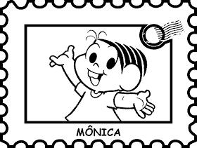 Alfabetizando com Mônica e Turma: FAZENDO COLEÇÃO DE SELOS...