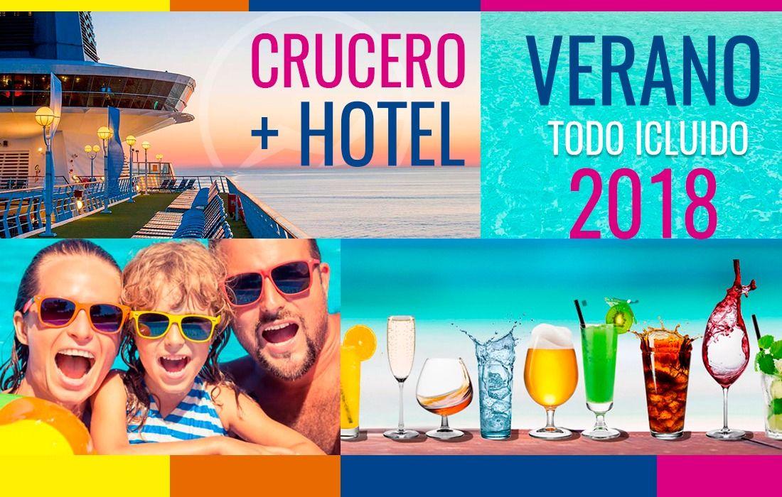 🌞 ¡VACACIONES 2018 EN EL CARIBE! 🏖 🛥 CRUCERO + HOTEL