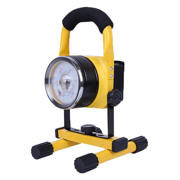 Us 25 05 20w Portable Rechargeable Led Flood Light Work Outdoor Emergency Camping Light Outdoor Lighting From Lights Lighting On Banggood Com