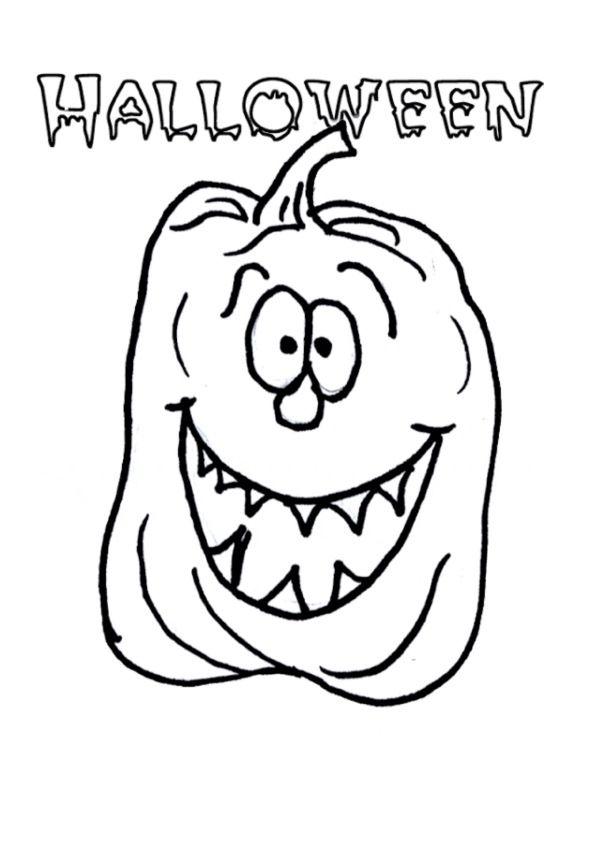 Dibujos para Colorear Halloween 20 | Dibujos para colorear para ...