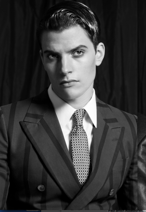 Dolce & Gabbana Suit. Photo by Omar Macchiavelli for The Men Issue. Styling Gioele Panedda.