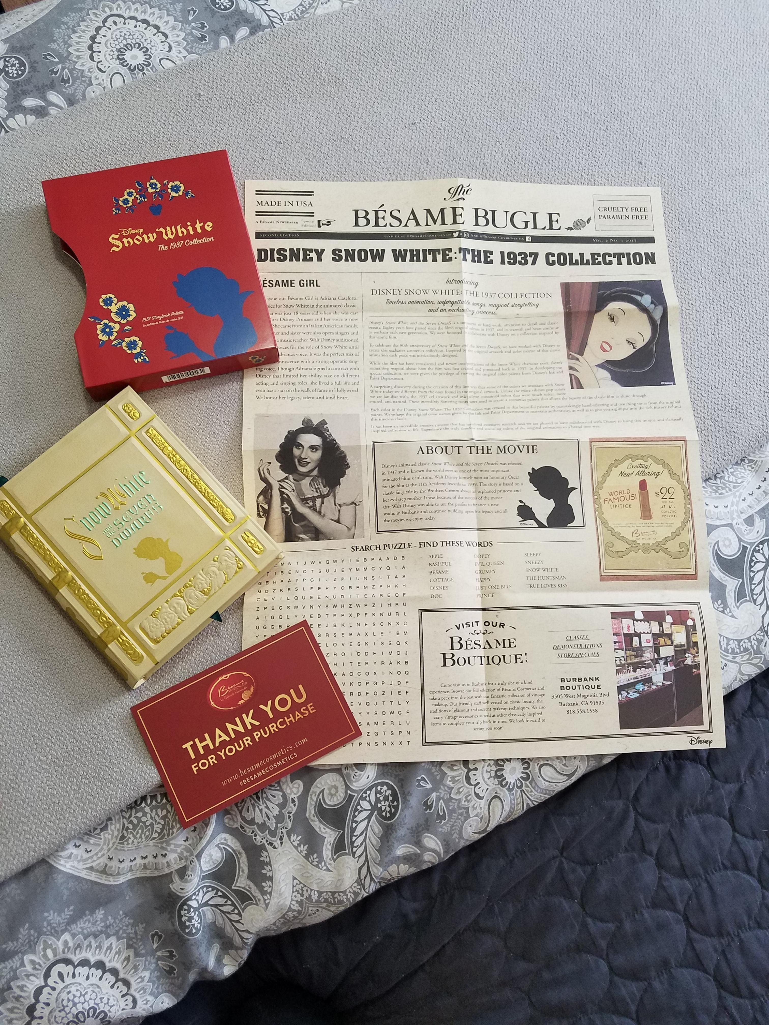 Besame Snow White 1937 Collection