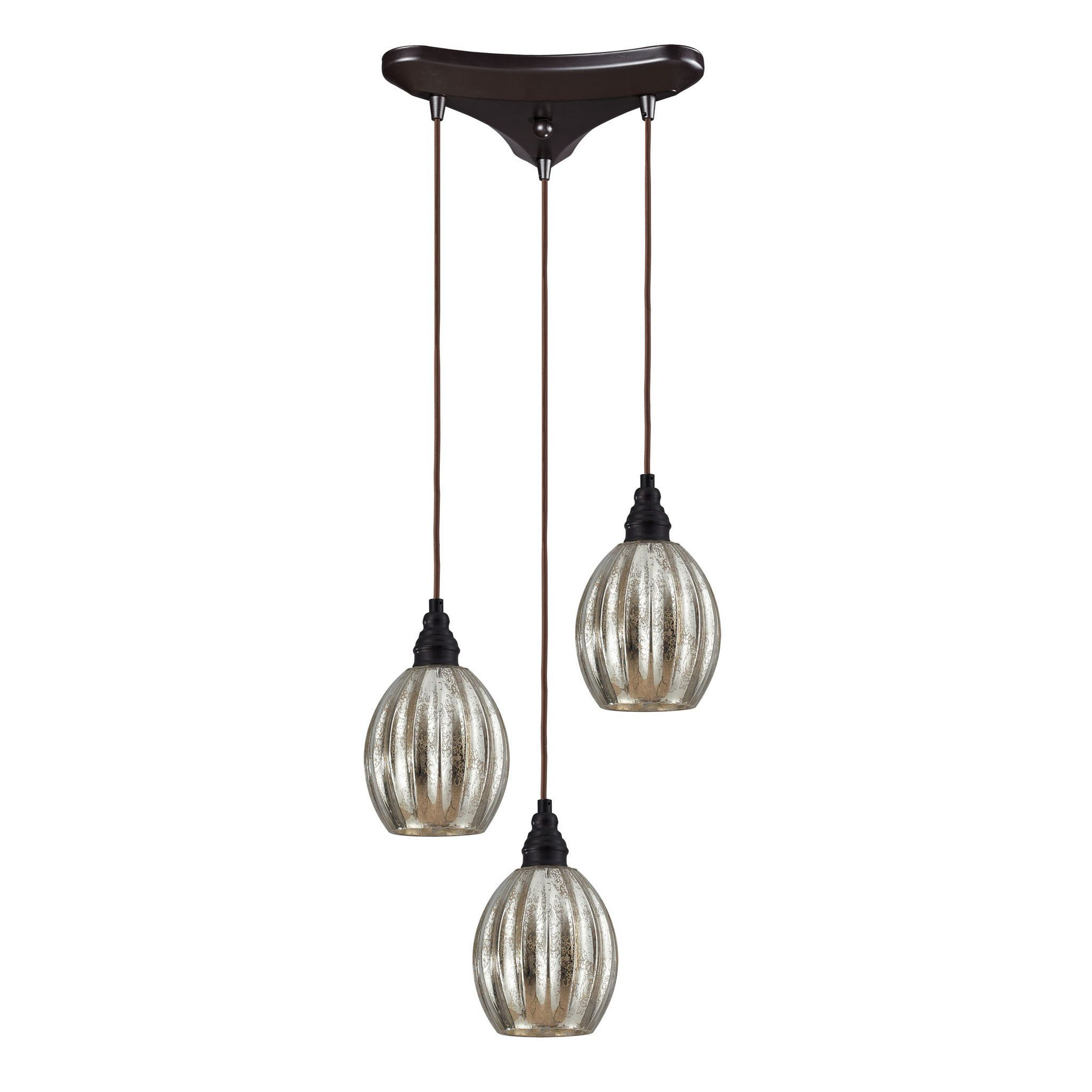 Danica Light Pendant In Oiled Bronze Elk lighting and Products