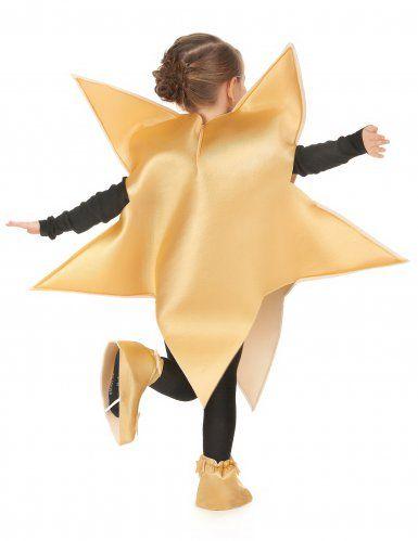 Vestito Da Stella Di Natale.Costume Stella Dorata Bambino Costumi Carnevale Idee Per