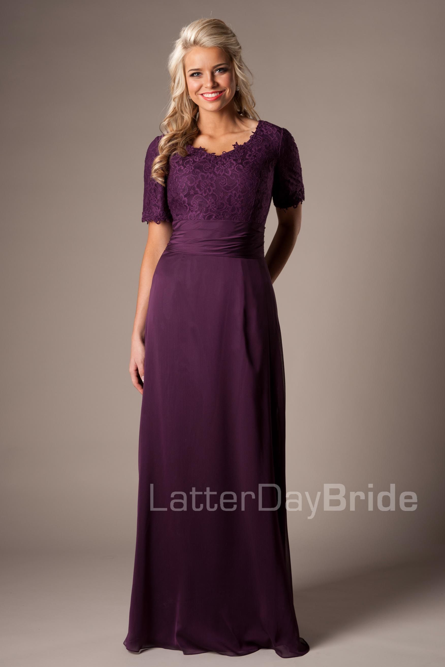 Modest purple mother of the bride dress motb modest wedding modest purple mother of the bride dress motb ombrellifo Image collections