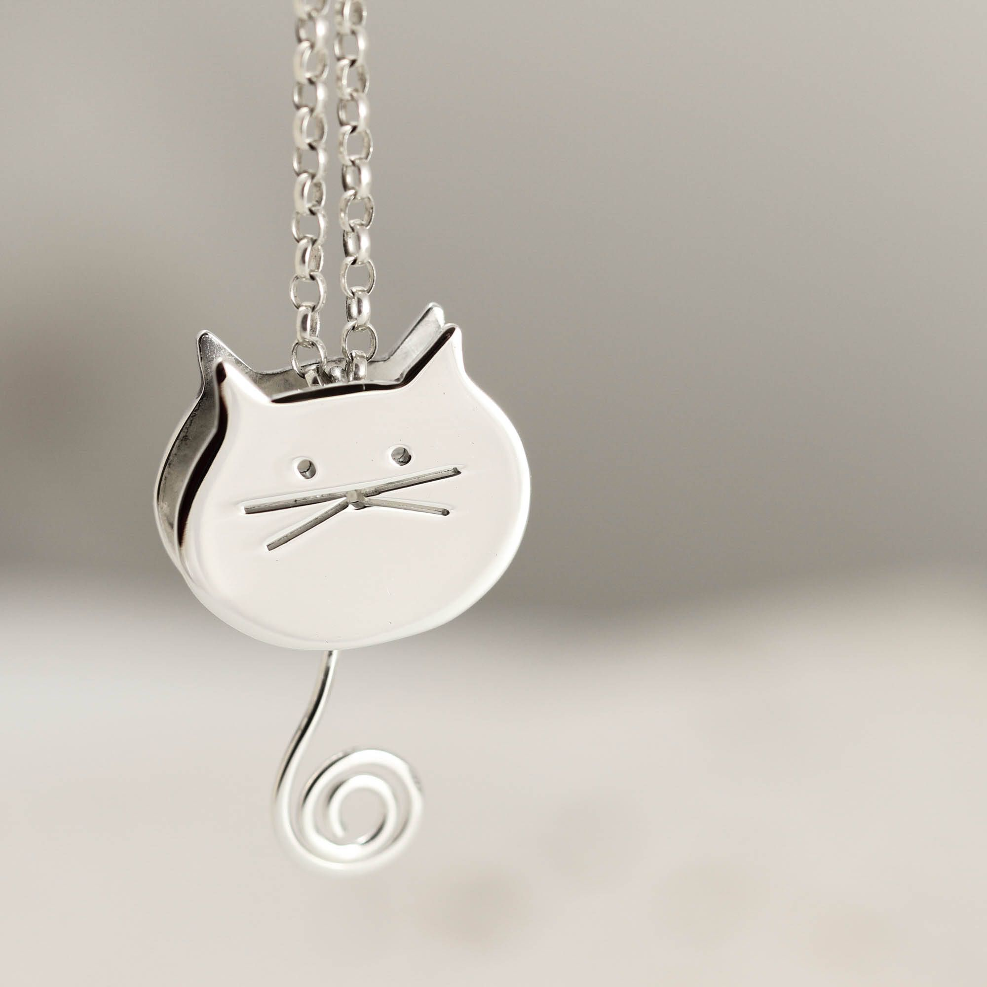 pin stained moon blue jewelry jewellery with pendant the cat glass ornament