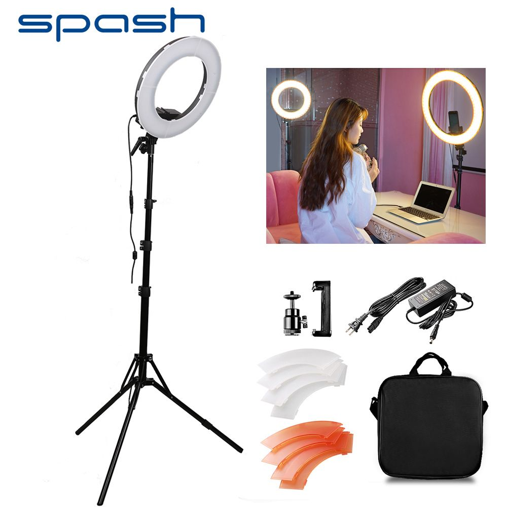 Find More Photographic Lighting Information About Spash Rl 12 Led Ring Light Circular Photography Lighting With Tripod 5500k Led Ring Light Led Ring Ring Lamp
