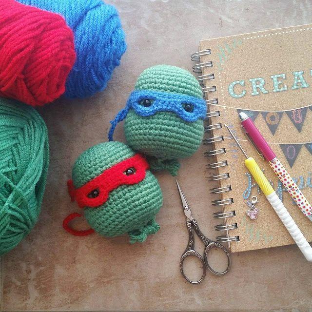 A[mi]dorable Crochet: Teenage Mutant Ninja Turtle Pattern ...