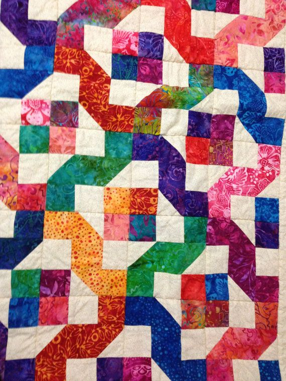 Winding Nine Patch Quilt Pattern Pdf Instant Download Layer Cake Or Jelly Roll Friendly Patch Quilt Charm Pack Quilt Patterns Quilts