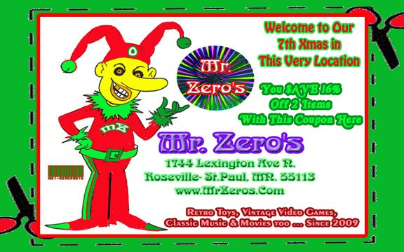 Christmas Gifts for the Hard To Find ! Mr. Zero's 55113