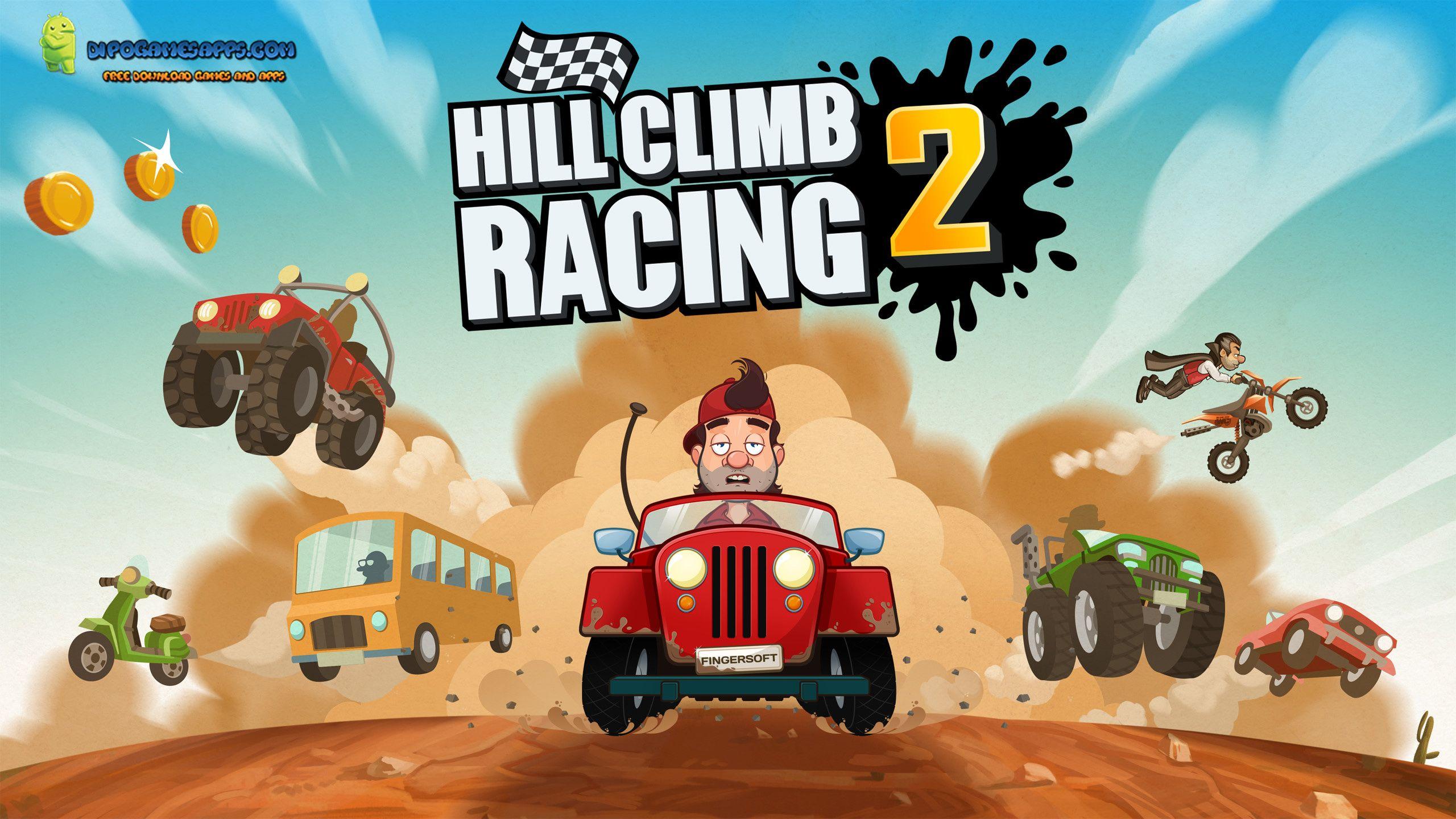 Download Hill Climb Racing 2 Mod Apk Unlimited Money Diamond V1