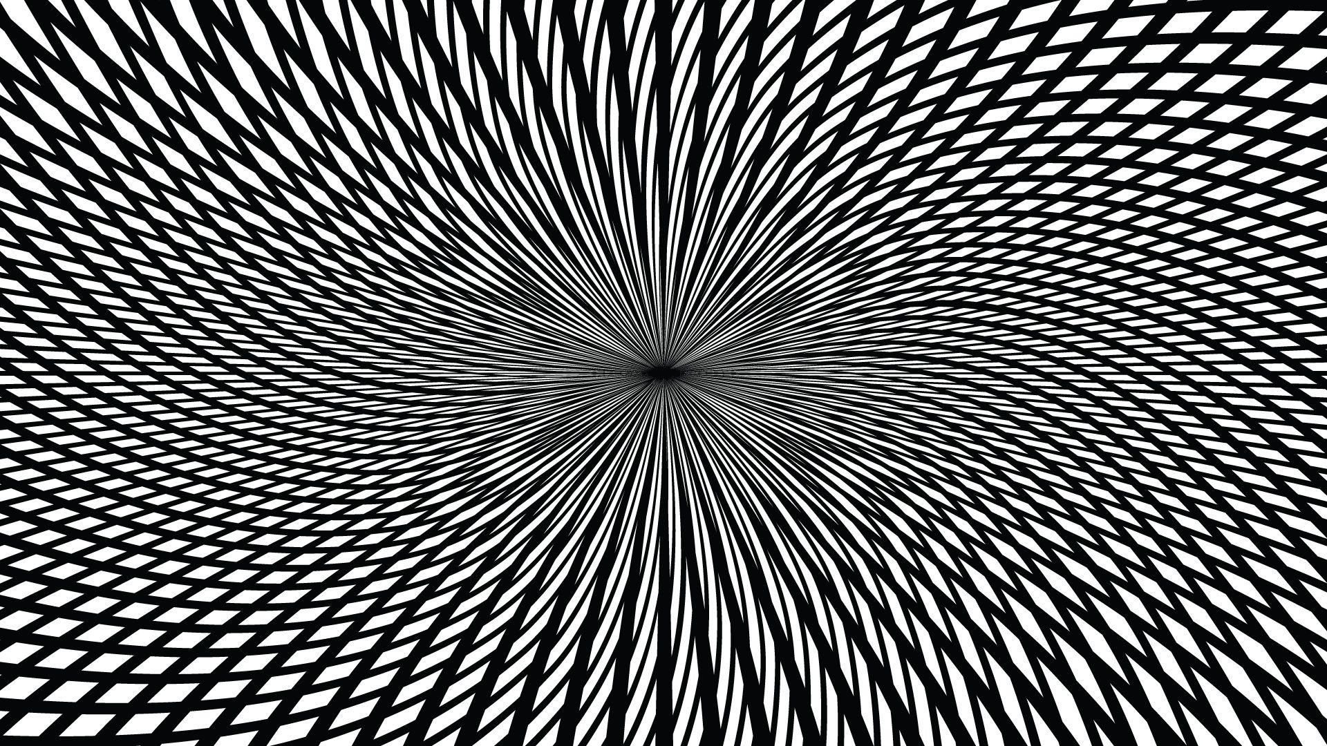 Intense Black And White Diamond Pattern In 2019 Optical