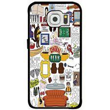 central perk friends fan art tv show pivot Samsung Galaxy s6 iphone6 Rubber case