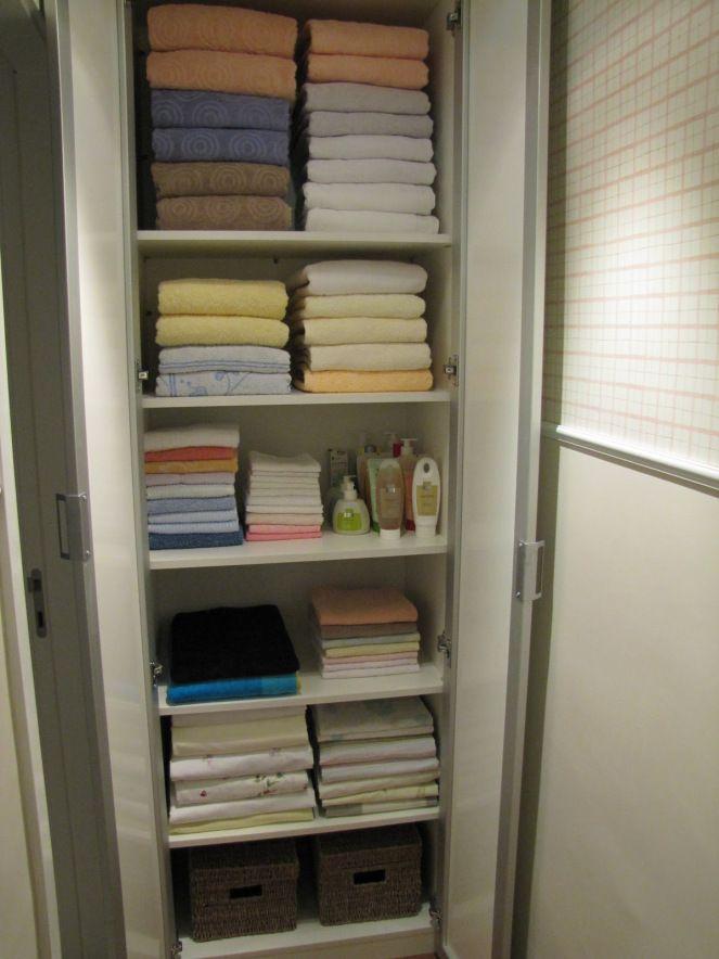 Como Organizar Sabanas Y Toallas Buscar Con Google Organizar Closets Organizar Las Toallas