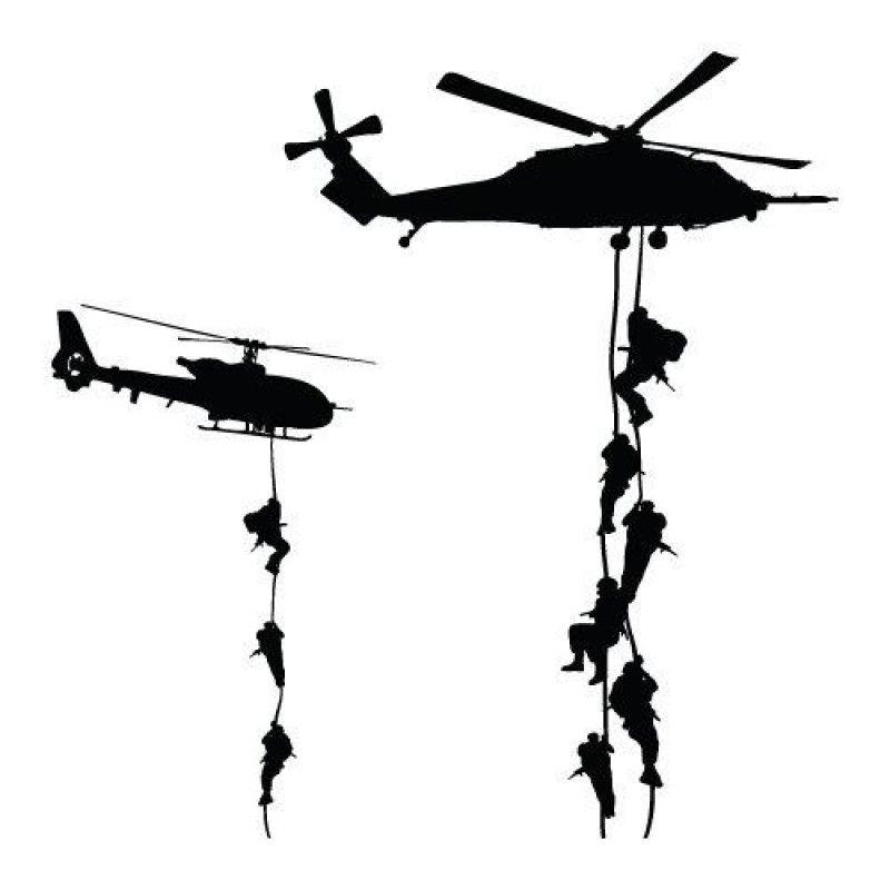 Air Assault Bilder Silhouette Tattoo Ideen