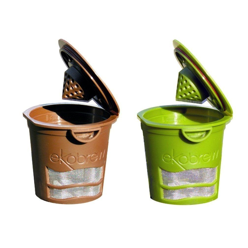 Ekobrew refillable kcup for keurig keurig refillable k