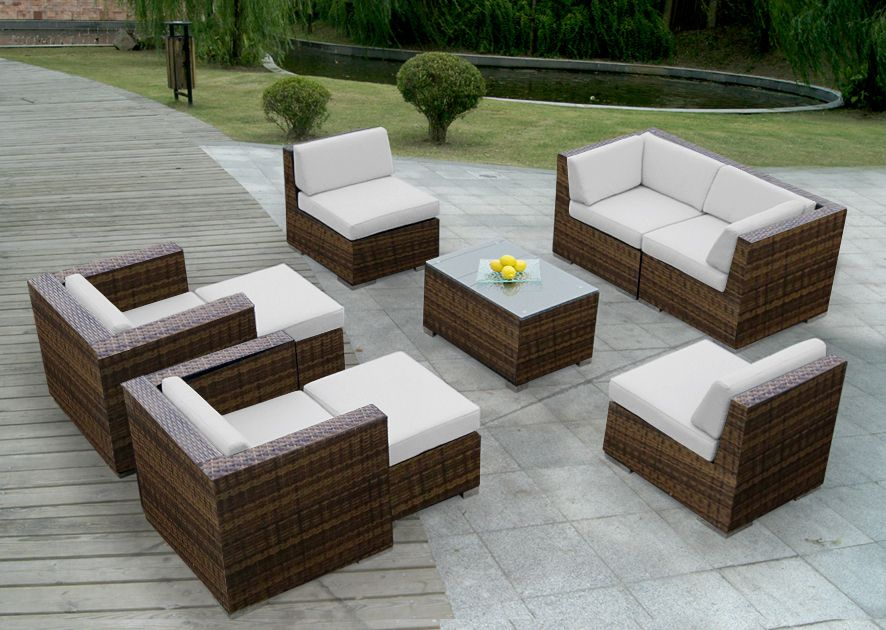 furniture set outdoor sectional designs patio item sofa genuine ohana new