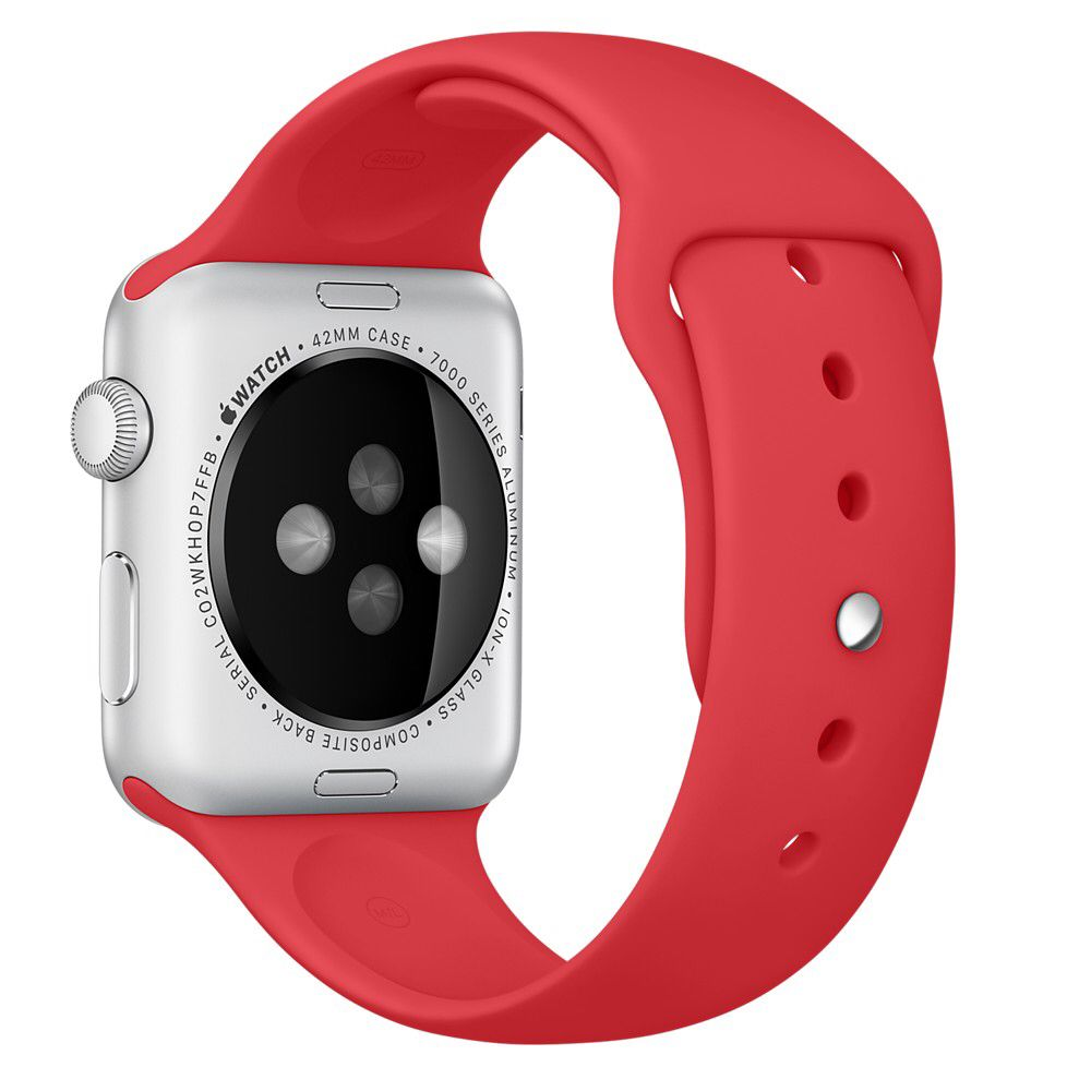 42mm (PRODUCT)RED Band  http://store.apple.com/xc/product/MLDJ2ZM/A
