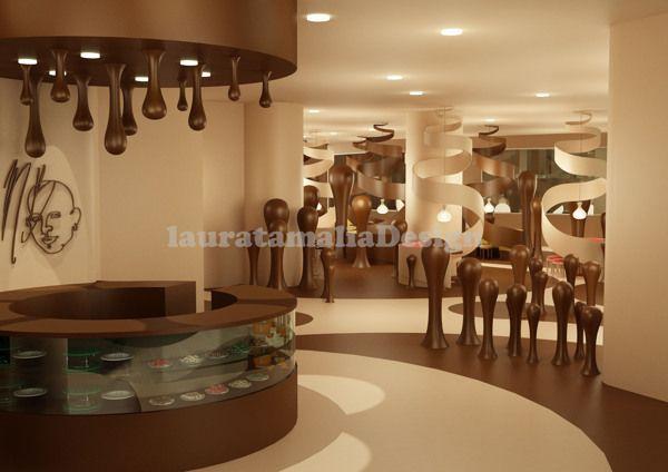 Chocolate Interior Google Search Cafe Chocolate