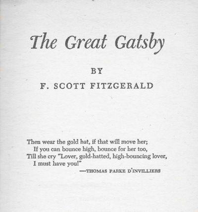 Love Affair With Words. The Great GatsbyGreat Gatsby QuotesFitzgerald  QuotesF Scott ...