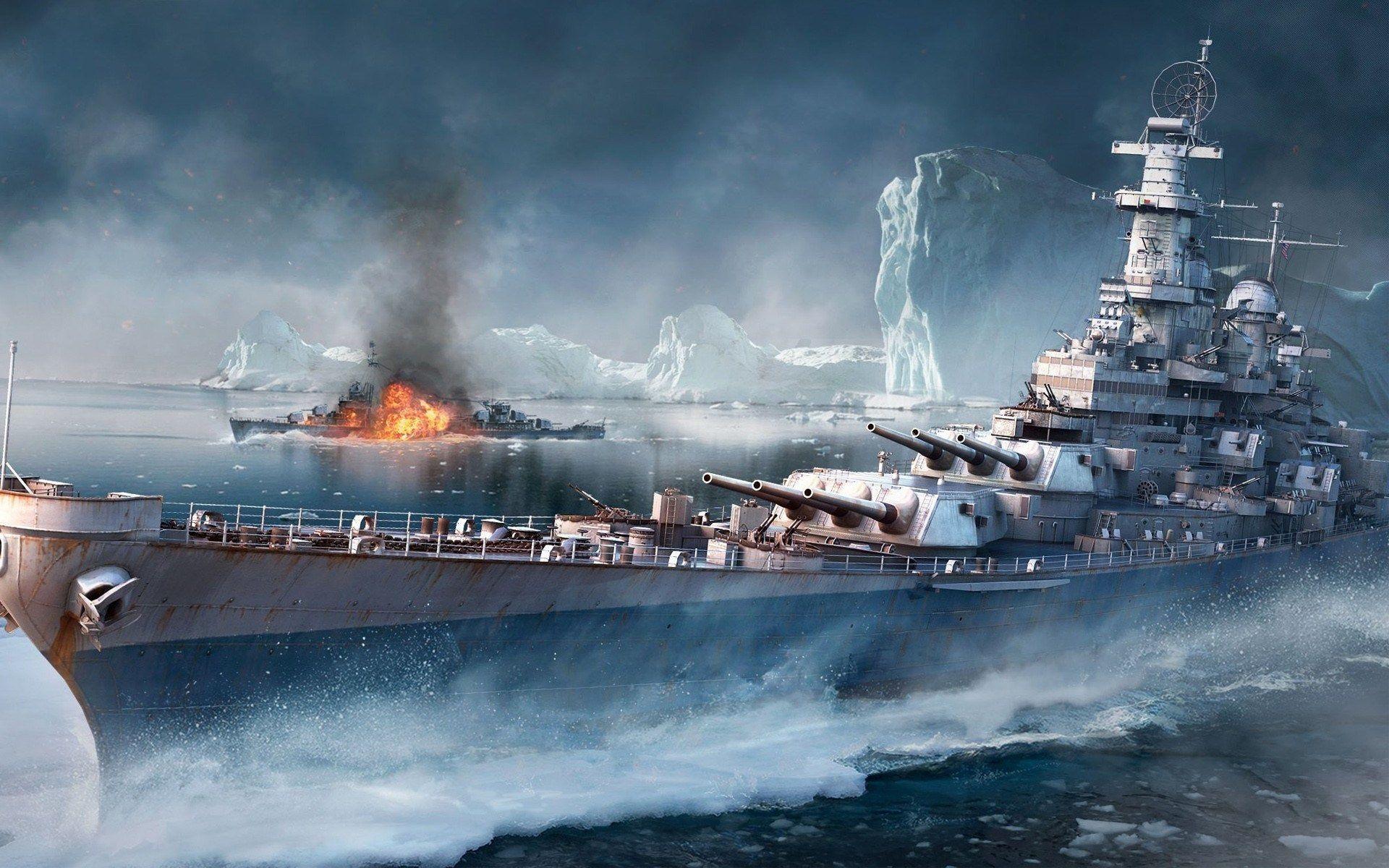 1920x1200 World Of Warships Ultra Hd Desktop Wallpaper World Of Warships Wallpaper Battleship Warship