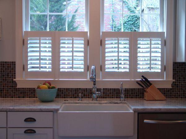 Kitchen Window Inspiration Interior Shutters