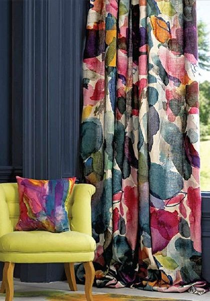 How To Dress Up Your Living Room Windows Curtain Livingroom Colorful Colorful Curtains Living Room Pattern Curtains Living Room Window Curtains Living Room