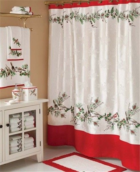 2013 Christmas Curtain Towel Set Top 9 Ways To Decorate
