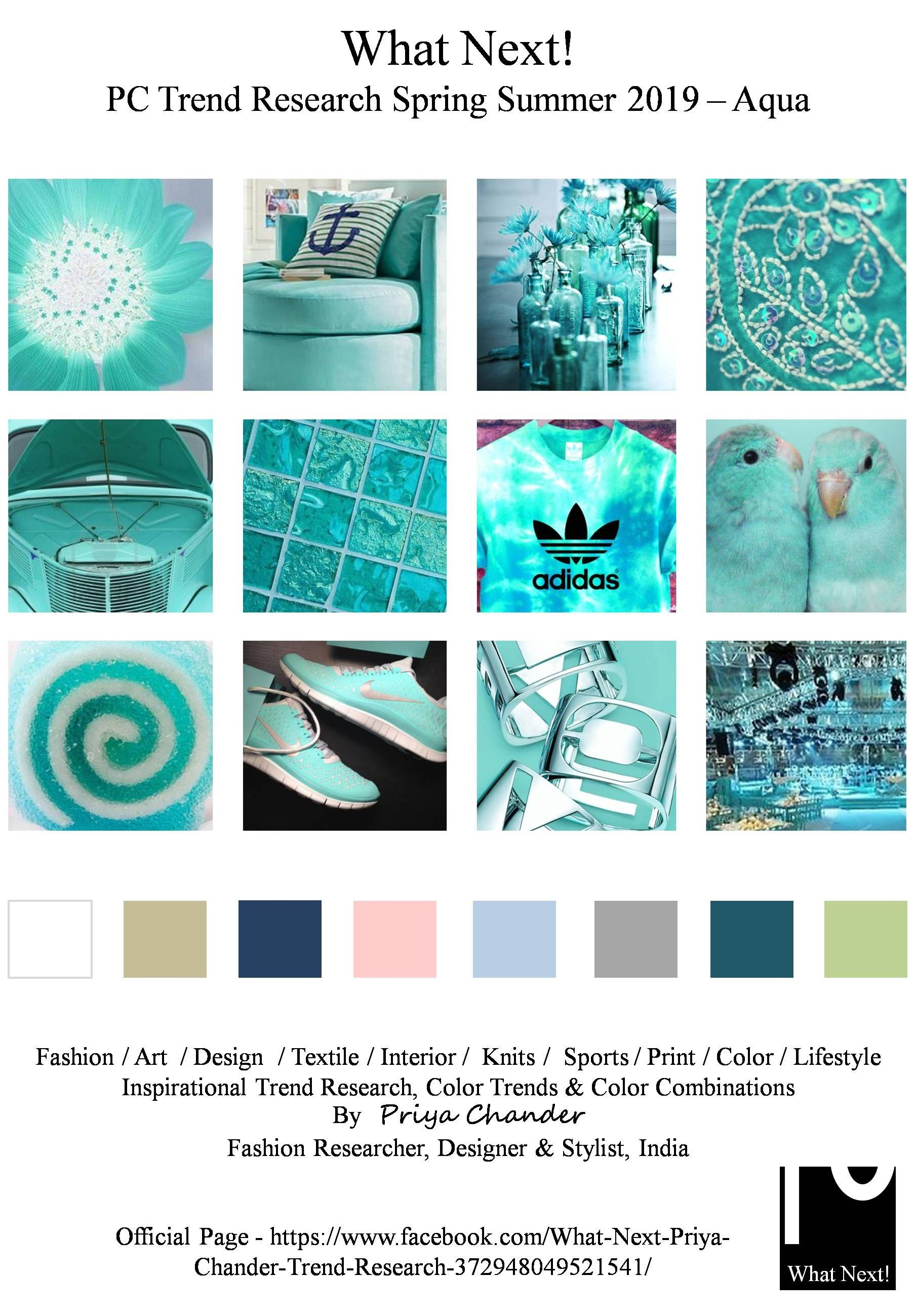 s s 2018 fashion colors trends aqua trend boards color trends fashion fashion trends. Black Bedroom Furniture Sets. Home Design Ideas