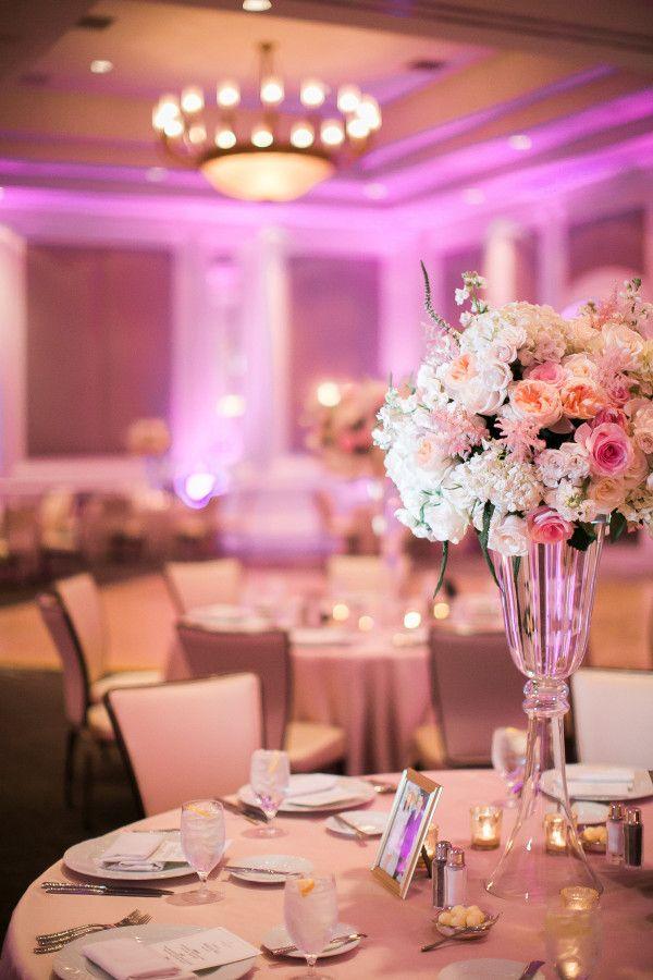 Pink And Cream Wedding At Four Seasons Las Vegas