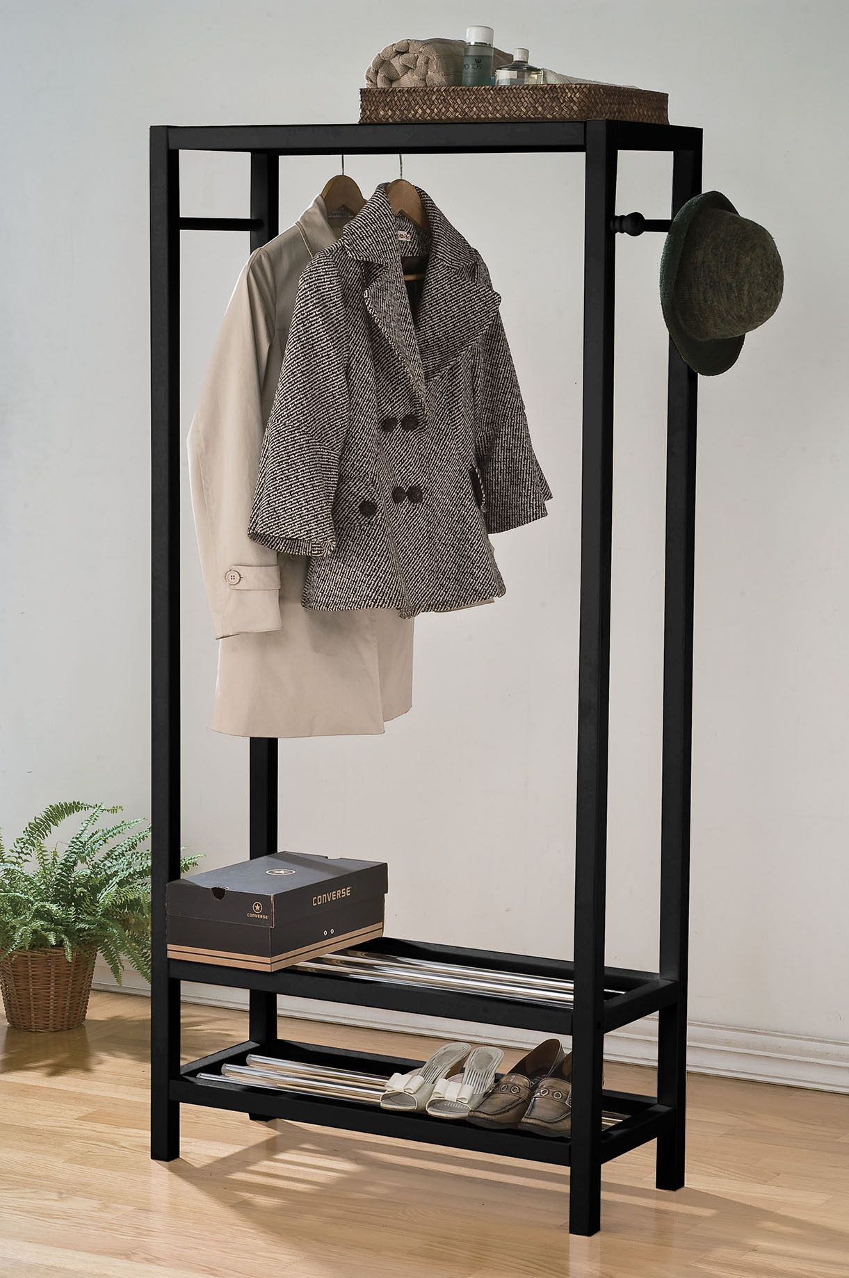 Buy acme maeve garment rack black at hhoutlets for only