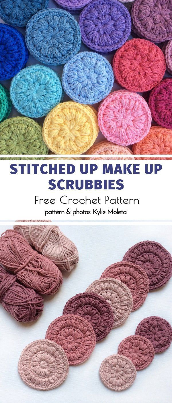 Crochet Bathroom Accessories Free Patterns - Miko BLog #gratismønster