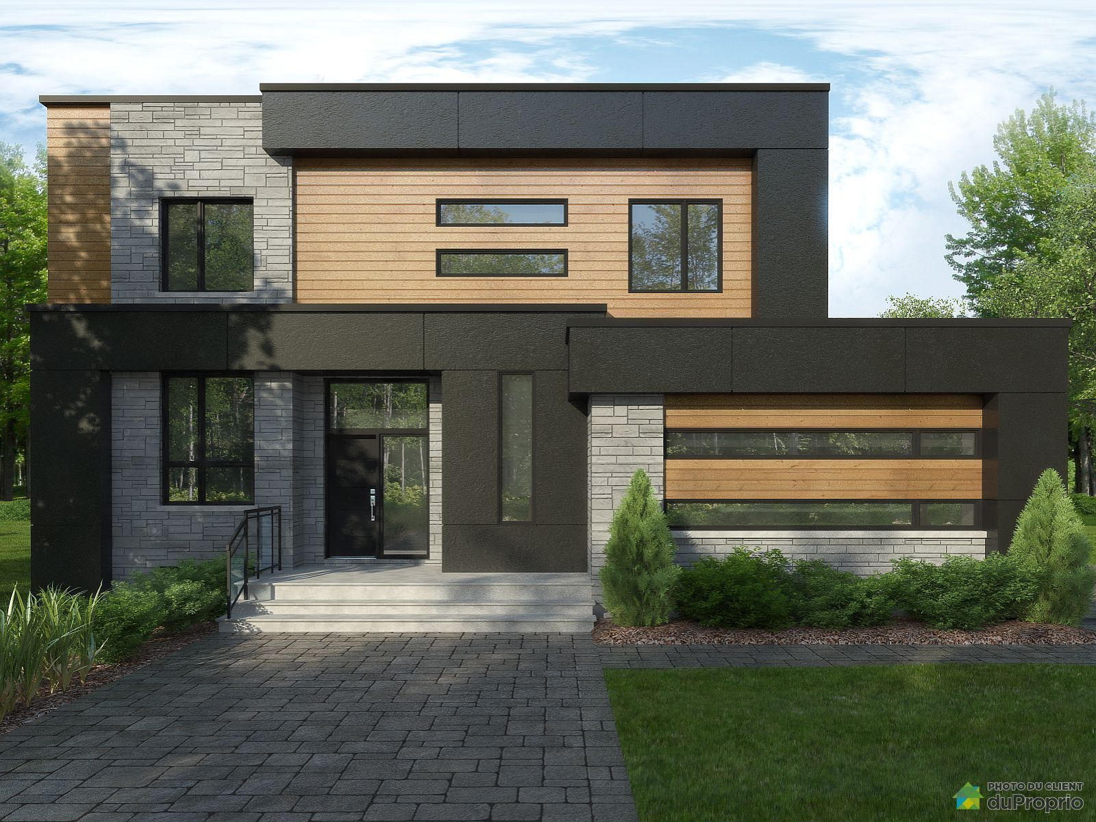 Maison 2 étages à vendre sans commission à Blainville. Jetez ...