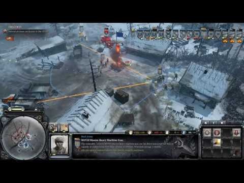 Company Of Heroes 2 Soviet Campaign Mission 3 Support Is On The