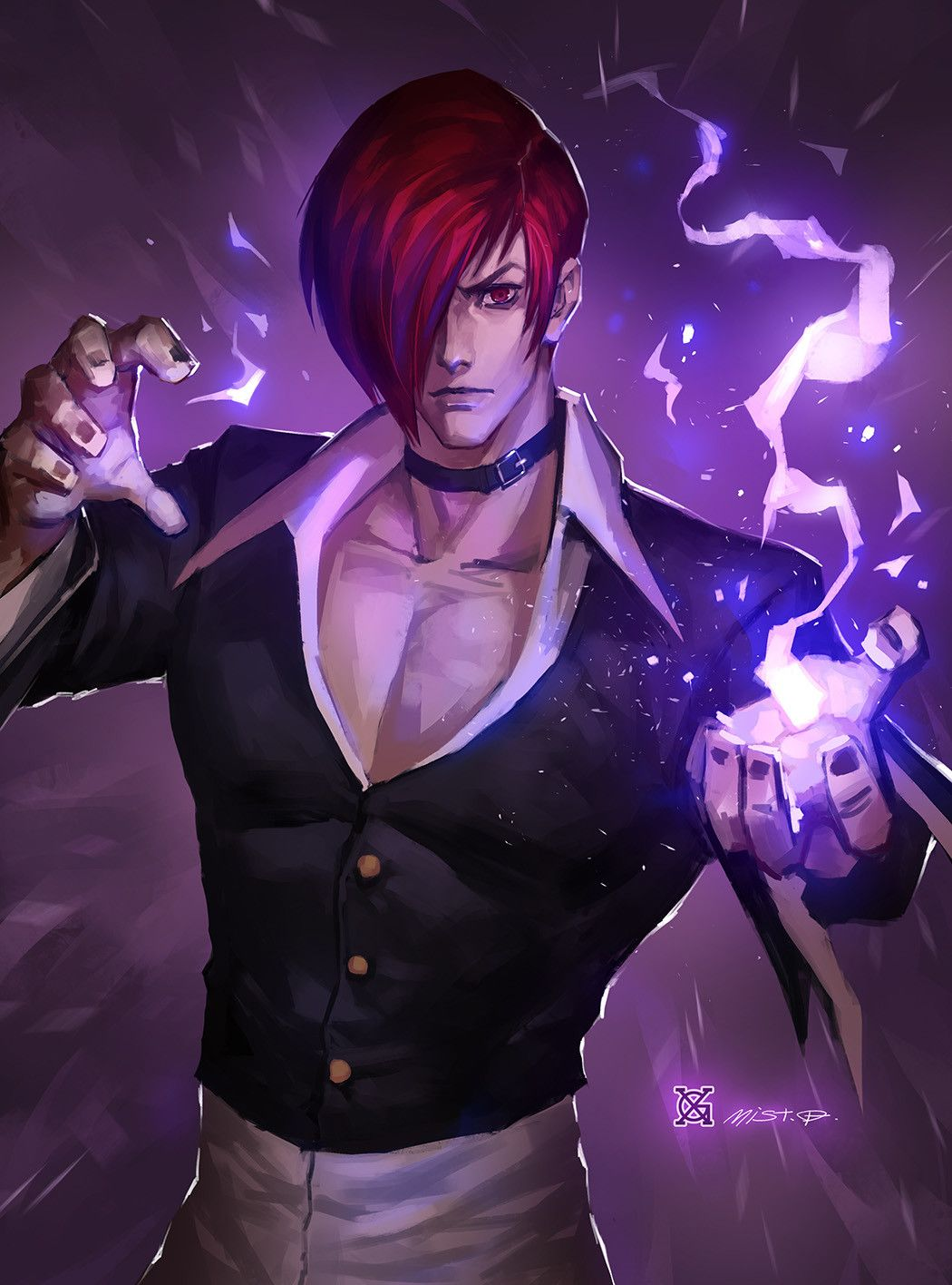 Iori Mist Xg King Of Fighters Hero Fighter Fighter