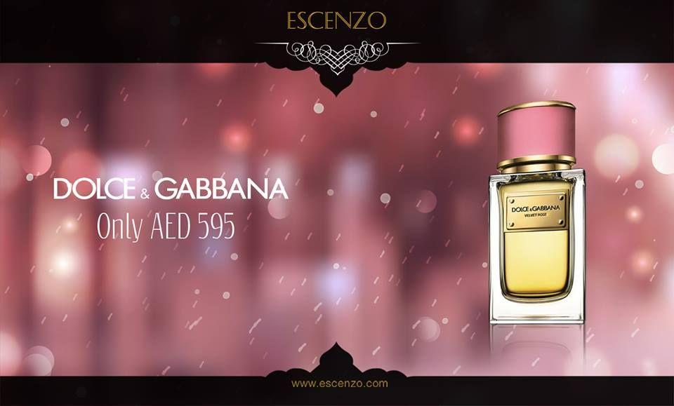 Buy Online Dolce Gabbana Velvet Rose Edp 50ml Perfume In Dubai Uae From Escenzo Dolce And Gabbana Perfume Perfume Floral Fragrance