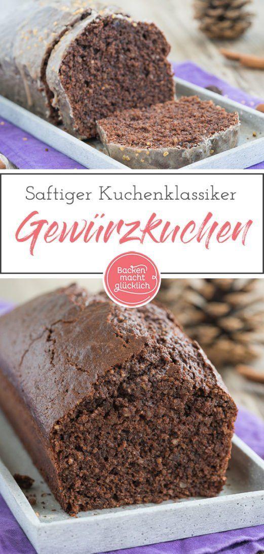 Photo of Saftiger Gewürzkuchen mit Schokolade | Backen macht glücklich