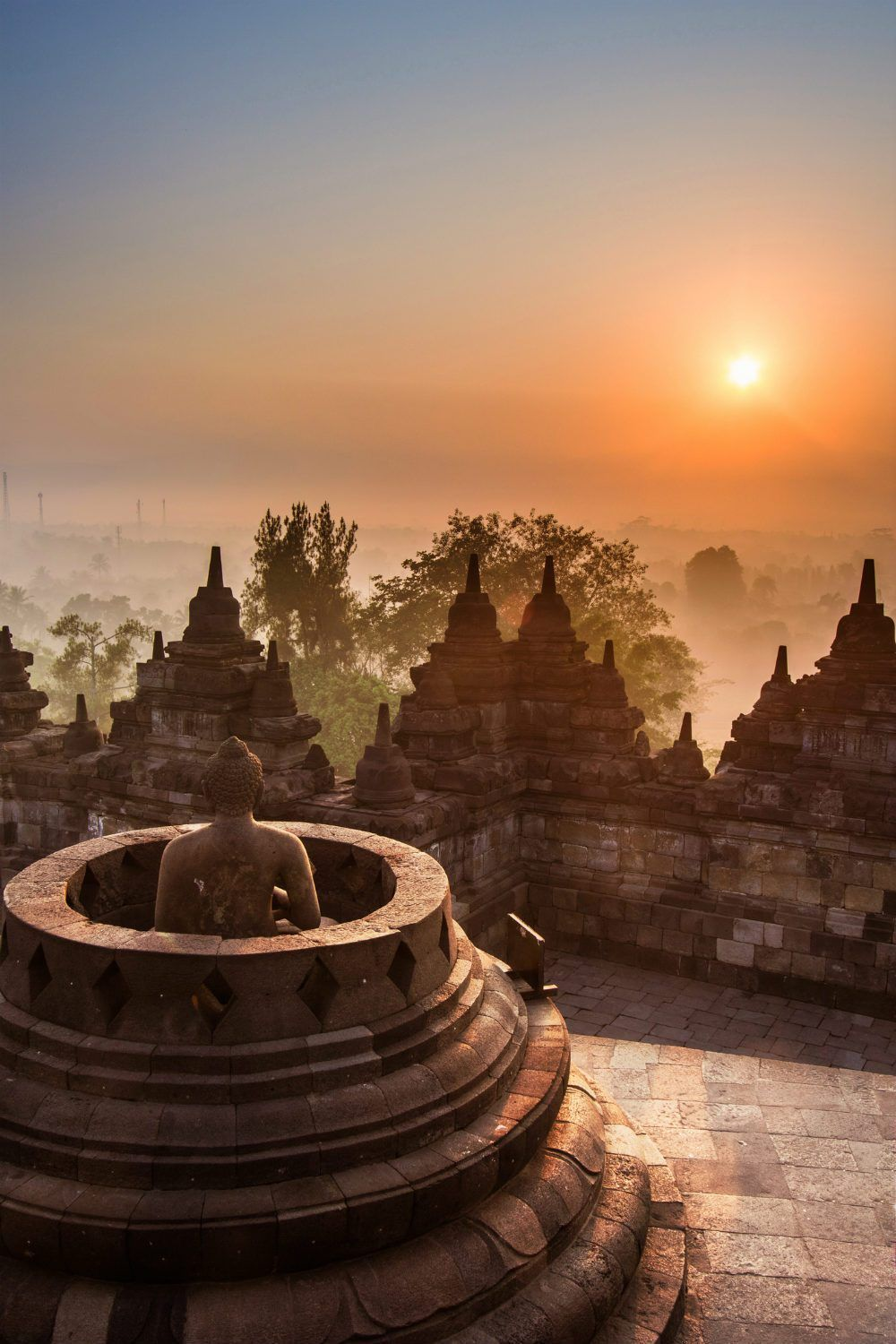 Borobudur Temple Indonesia Photography - Beautiful Places in Indonesia Photos