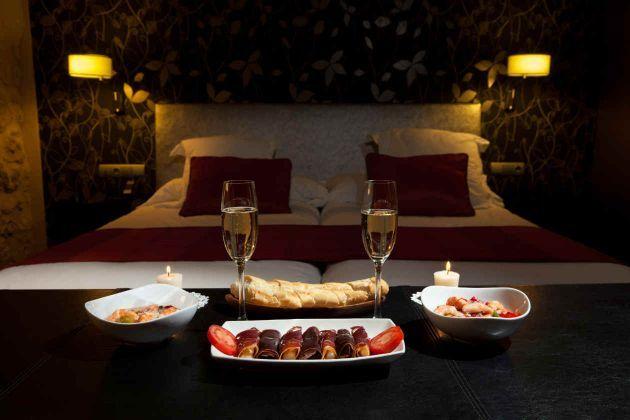 C mo organizar una cena rom ntica en casa valentines day - Cena romantica in casa ...