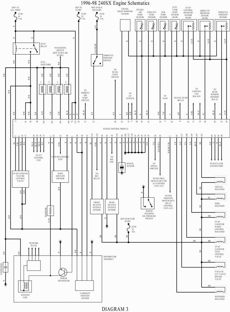 7 Terminal Ignition Switch Wiring Diagram Schaltplan Hyundai Tiburon Jeep
