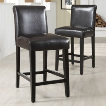 Surprising Homevance Homevance 2 Pc Mayer Counter Chair Set Counter Machost Co Dining Chair Design Ideas Machostcouk