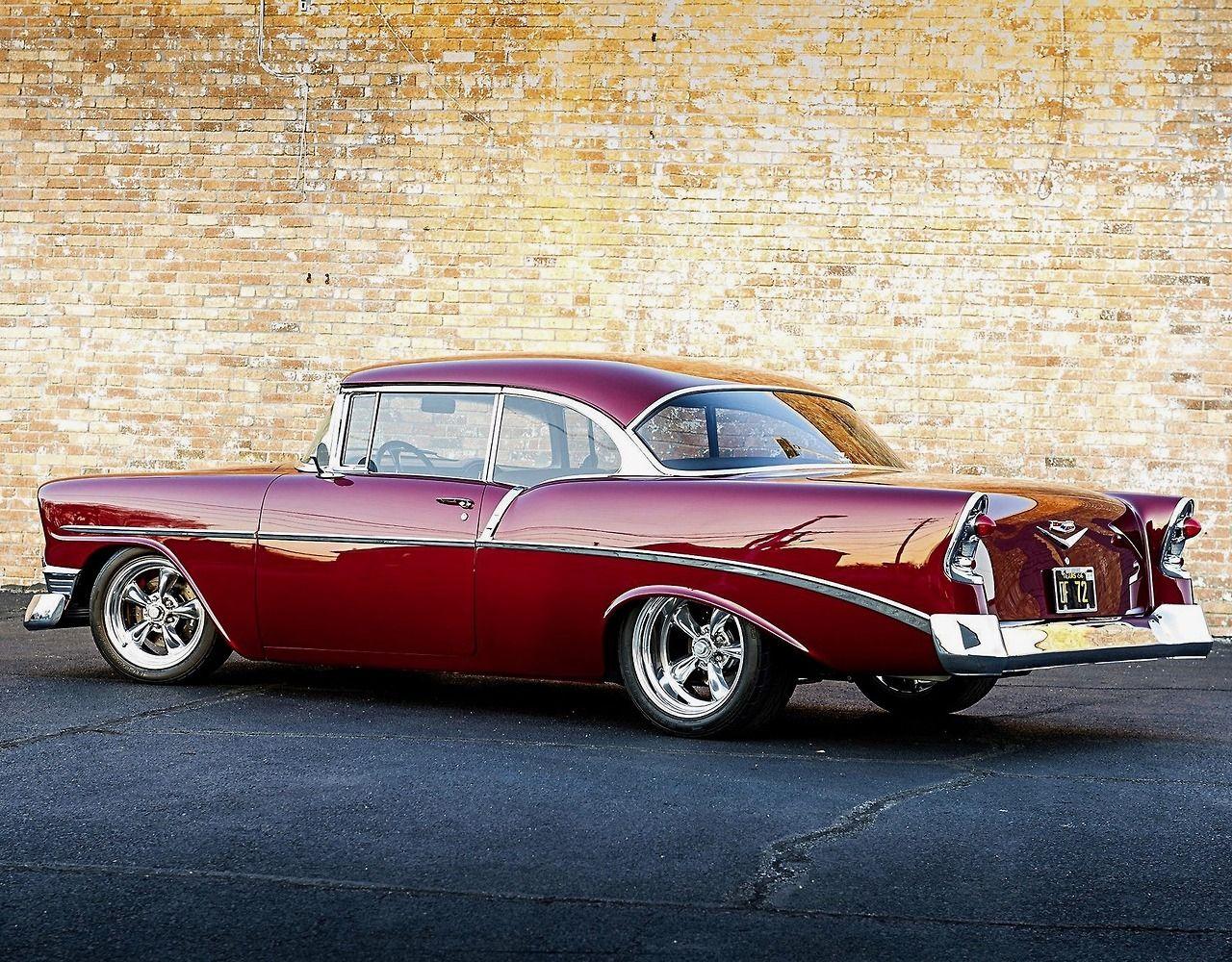 '56 Chevrolet Bel Air Custom © Ro McGonegal Pontiac cars